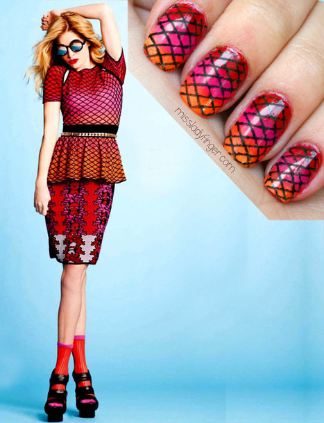 MANICURE as #CanVazz: M Missoni in Spanish Cosmo - #Inspiration | Brooklyn By Design | Scoop.it