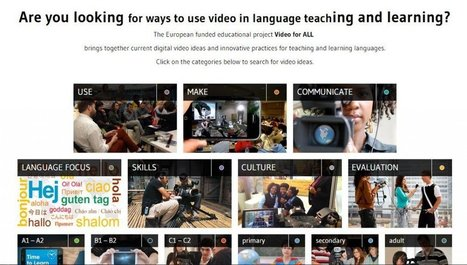 """""""Video For All"""" Is A Gift For Any Language Teacher Who Uses Video 