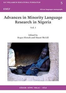 ISBN 978-3-89645-426- Advances in Minority Language Research in Nigeria vol. I | Metaglossia: The Translation World | Scoop.it