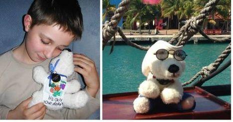 Un enfant autiste fait faire le tour du monde à son ours en peluche pour sensibiliser à sa maladie | Aidants familiaux | Scoop.it