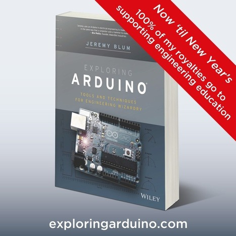 """Pick up a Copy of """"Exploring Arduino"""" and Help Support ... 