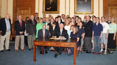 Indiana Governor Mike Pence Signs Common Core Pause Legislation | Truth in American Education | Common Core | Scoop.it