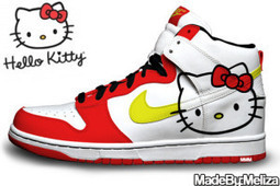 Nike White Red Hello Kitty SB Dunks High [hello-kitty-shoes-1017] - $80.00 : DC Comic Dunks ,Marvel Comic Dunks, Superhero Nike Dunks Shoes ,Superman ,Batman ,Spiderman,Captain America Nikes | Hello Kitty Nike Dunks | Scoop.it