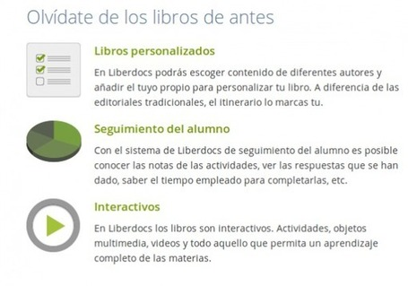 Liberdocs, libros de texto en español gratuitos, con licencia Creative Commons | science de l'info | Scoop.it