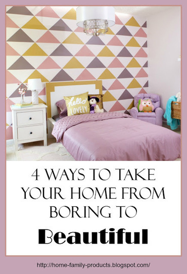 Home and Family Products: Weekend Warrior: 4 Ways to Take Your Home from Boring to Beautiful | Homemaking | Scoop.it