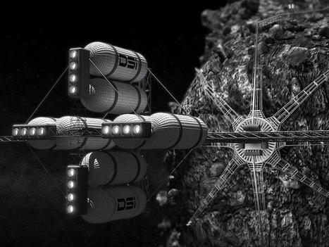 Deep space mine: Luxembourg's robot experts have their sights on asteroid mining | ZDNet | Technology | Scoop.it