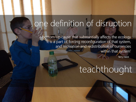 30 Examples Of Disruptions In The Classroom | AprendizajeVirtual | Scoop.it