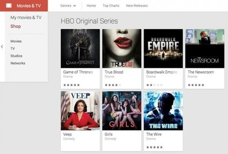 "HBO shows come to Google Play including ""Game of Thrones,"" ""The Newsroom"" and others 