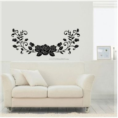 Wild Rose Look Like Butterfly Flower Wall Decals – WallDecalMall.com | Flower Wall Decals | Scoop.it
