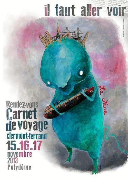 14e Rendez-Vous du Carnet de Voyage de Clermont-Ferrand du 15 ... | idées carnets de voyage | Scoop.it