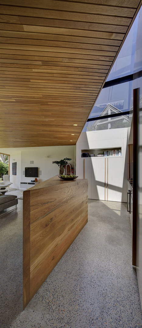 Small Workers' Cottage Transformed Into Sculptural Family Home | Interior Design from St. Catherine University | Scoop.it