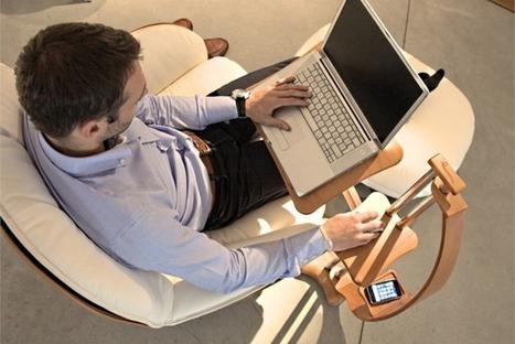 LoungeWood, el accesorio definitivo para usar el portátil en el sofá | Recull diari | Scoop.it