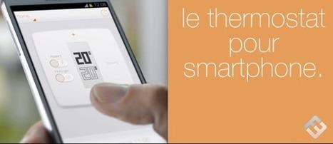 Ce qu'il faut savoir cet après-midi : Exclusif: Démo du nouveau thermostat connecté Netatmo, signé Philippe Starck | KILUVU | Scoop.it