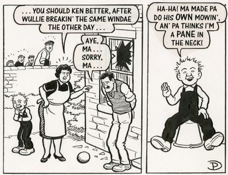 The not-so-changing face of Oor Wullie on his 80th anniversary - BBC News | Interesting stuff for ESL EFL teachers | Scoop.it