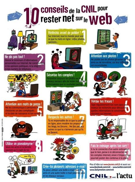 Rentrée : 10 conseils pour surfer tranquille sur le web - Geek Junior - | télésecretariat, secrétariat à domicile, auto entrepreneur, | Scoop.it