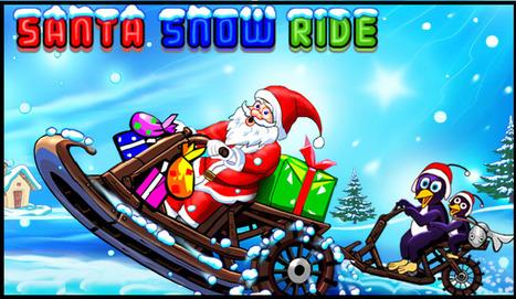 Santa Snow Ride | Racing Games | Adventures Games | Avatar Games | Scoop.it