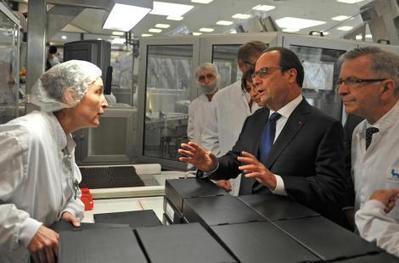 En visite à l'usine Novo Nordisk de Chartres, Hollande vante l'attractivité de la France | All about Pharma by Pharmacomptoir | Scoop.it