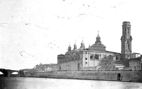 Zaragoza antigua. El Pilar sin sus torres.   Curious World   Scoop.it