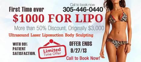 Cheap Liposuction in Miami, Just $1000 (no hidden cost) - Slashdot | Liposuction Miami | Scoop.it