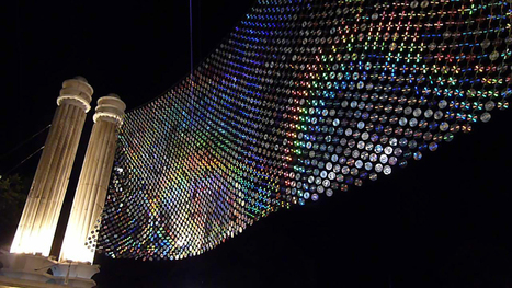 Mirror Culture: an installation of 6000 CDs | D_sign | Scoop.it