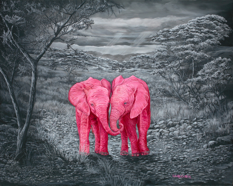 "New Painting ""Whisper"" 
