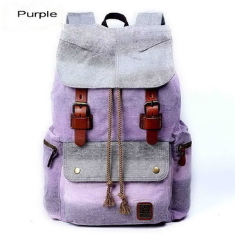 Update urban backpacks Gradient pack for girls from Vintage rugged canvas bags | Collection of backpack | Scoop.it