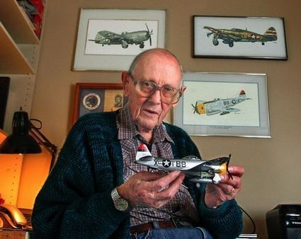 Bob Mower flew fighter planes on WWII front lines - HeraldNet | military | Scoop.it