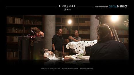 L'ODYSSEE DE CARTIER: Benoit Revilliod – VFX Supervisor – Digital District | Infographie 3D | Scoop.it