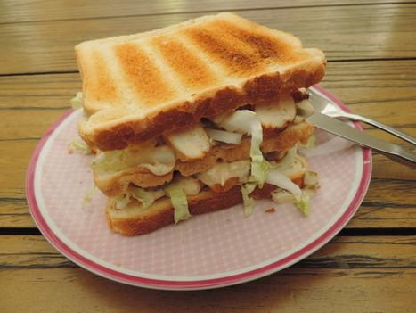 Clubsandwich met Chinese kool en kip - Zo eet je meer groenten | Lekker Tafelen | Scoop.it