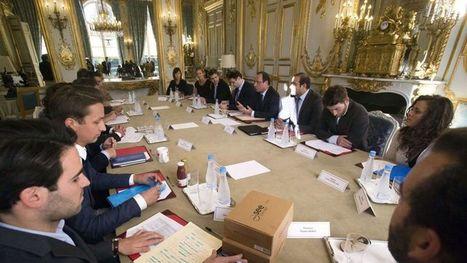 Hollande se fait expliquer par les jeunes les recettes pour créer des emplois | EducNews | Scoop.it