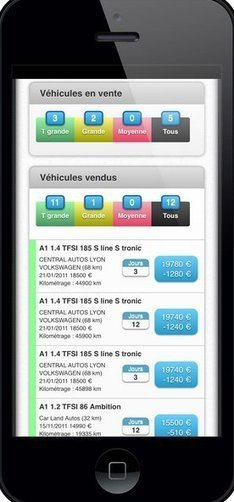 Autovista porte ses outils SpotVO et Radar sur iOS et les mobiles. | bee2link | Scoop.it