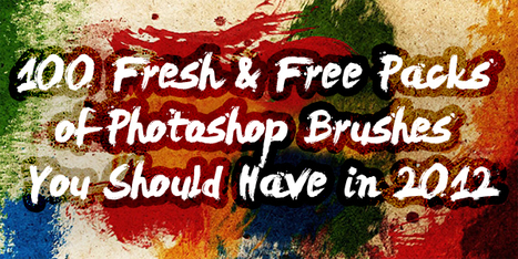 100 Fresh & Free Packs of Photoshop Brushes You Should Have in 2012 | Design Web Kit | photoshop ressources | Scoop.it
