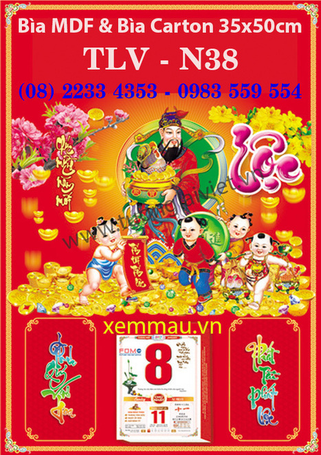 In Lịch Tết 2017 - In Lịch Tết tại gò vấp | In ấn quảng cáo | Scoop.it