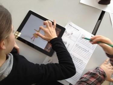 Forum numérique : un iPad à l'école | Tablettes et liseuses à la bibliothèque | Un seul pied ne trace pas un sentier... | Scoop.it