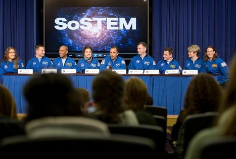 Half of NASA's Newest Astronaut Class Are Women | Science & Engineering | Scoop.it