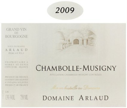 2009 Domaine Arlaud Chambolle-Musigny Burgundy Pinot Noir 750 mL | Review Best Wines Online | Scoop.it