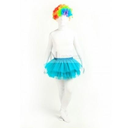 Zentai TuTu Skirt in Azure Blue   Nefsuits   Scoop.it