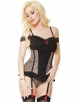 Sexual Stampede Leopard Bustier | Selection of Corset and Bustier | Scoop.it