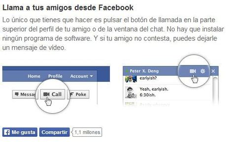 Videollamadas de Facebook - Como activarlas | Farmacia Social Media | Scoop.it