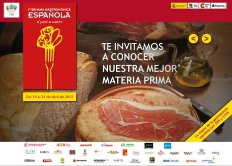 CCEBA - ACTIVIDADES - SEMANA - 1ª SEMANA GASTRONÓMICA ESPAÑOLA | cocina | Scoop.it