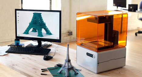 Formlabs debuts Mac software for Form 1 high-res 3D printer, adds mesh repair | New IT use cases | Scoop.it