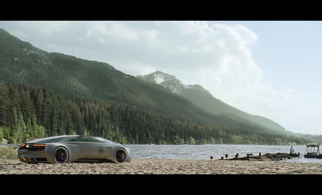 "Audi reveals science fiction car for ""Ender's Game"" movie 