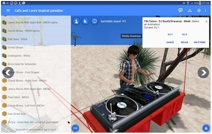 Lumiya SL Viewer for Android Gets Major UI Update | E-LEARNING  _ FORMATION EN LIGNE | Scoop.it