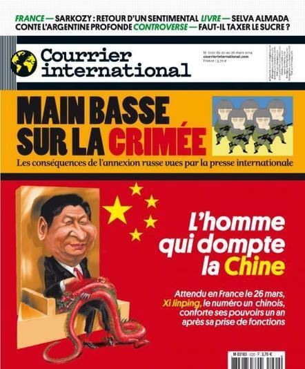 Courrier international  n° 1220 - 20 mars 2014 | CDI RAISMES - MA | Scoop.it