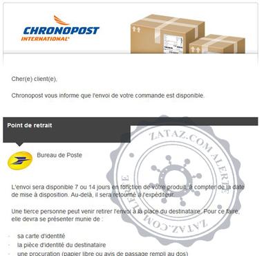 Faux site Chronopost | Libertés Numériques | Scoop.it