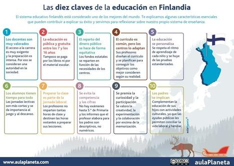 AYUDA PARA MAESTROS: Las 10 claves de la educación en Finlandia | Educacion, ecologia y TIC | Scoop.it