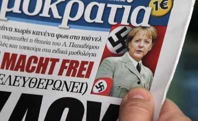 "Greek journalist called Merkel ""dirty Berlin girl with an open arse""- The Local 