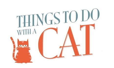 Things to Do With a Cat - Infographic Online | 911branding | Scoop.it