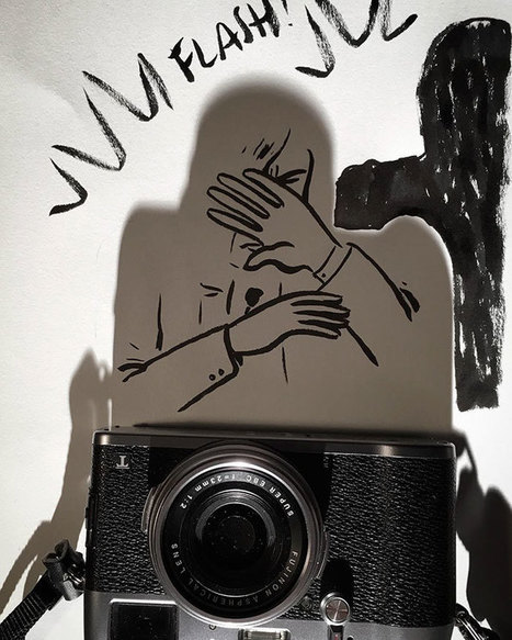 Artist Turns Shadows Of Everyday Objects Into Funny Sketches | Strange days indeed... | Scoop.it