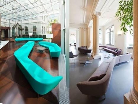 le canapé modulaire Loop de chez Arper decodesign / Décoration | Institut de beaute | Scoop.it